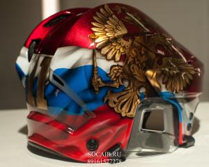 Аэрография на шлеме