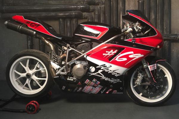 Мотоцикл «Ducati» покраска и роспись под ключ.