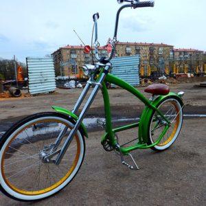 Aerografiya na velosipede Nirve