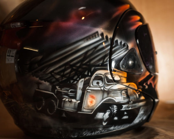 Аэрография на шлемах - 9 мая