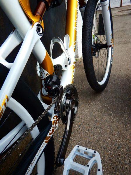 Подарочный велосипед, аэрография