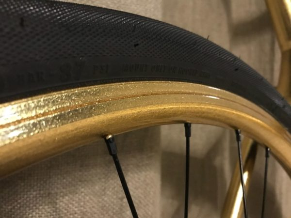 Золотой велосипед BMC
